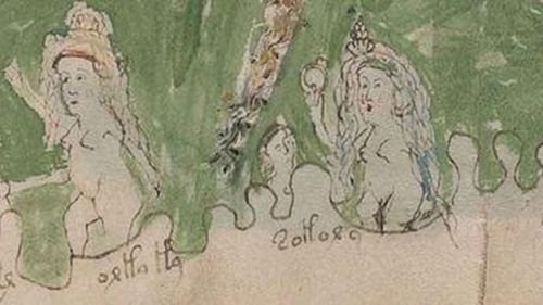 This figure shows two women dealing with five children in a bath. Credit: University of Bristol