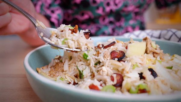 9Honey Quarantine Kitchen: The secret to perfect fried rice; less is more