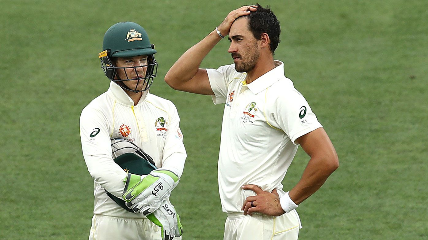 Australia v India: first Test, day four