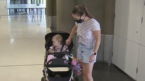 One of those people is Ashlee Christensen's husband, who was meant to be home weeks ago but has been stuck in Sydney since the freeze was imposed.