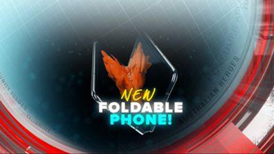 New foldable phone