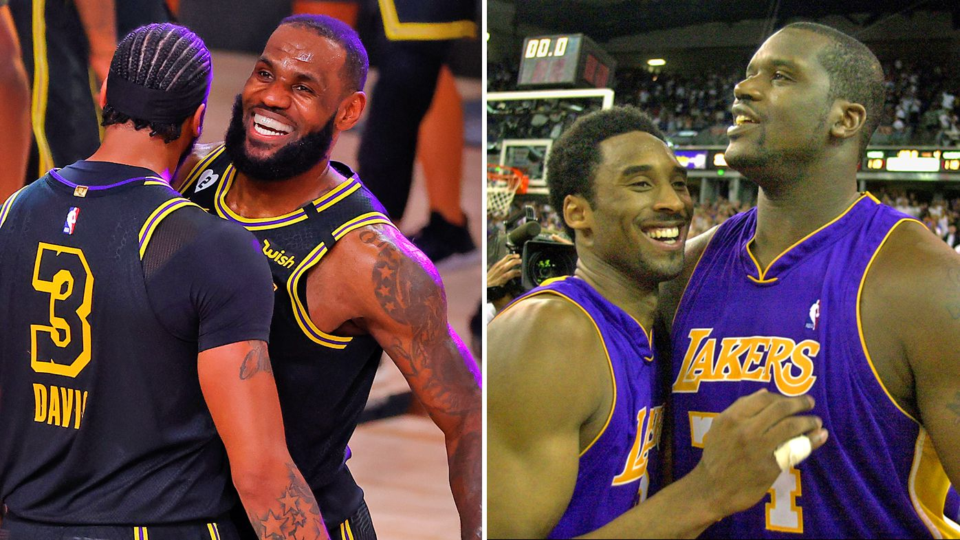 LeBron James and Anthony Davis draws comparisons to LA Lakers 'greats' Kobe Bryant and Shaquille O'Neal