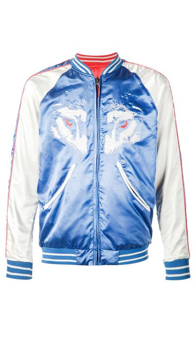 "<a href=""http://www.farfetch.com/au/shopping/women/Diesel-embroidered-bomber-jacket-item-11076118.aspx"" target=""_blank"">Men's Jacket, $543, Diesel at farfetch.com</a>"