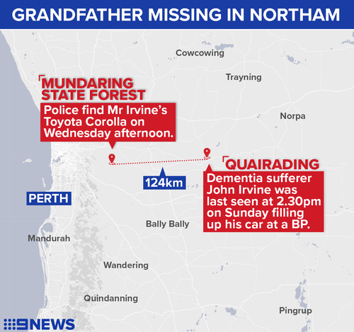 WA Northam missing grandfather