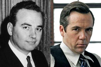 Left: Rupert Murdoch / Right: Patrick Brammall