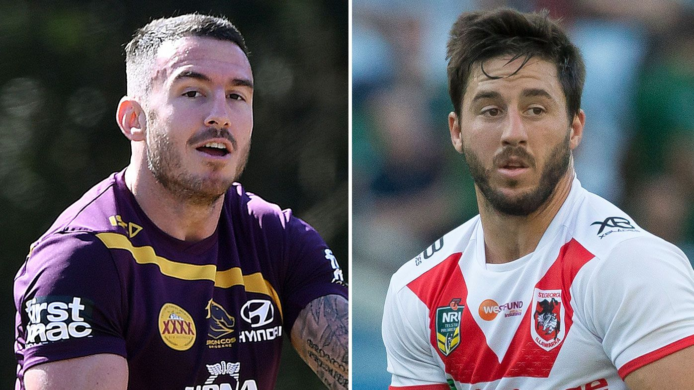 Ben Hunt and Darius Boyd