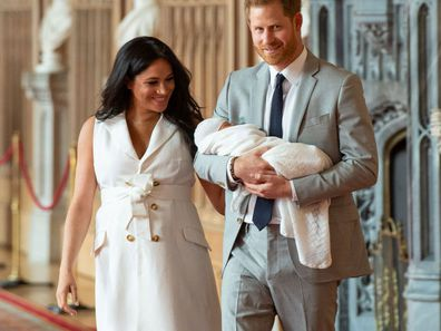 Meghan Markle breaks royal tradition with baby Archie