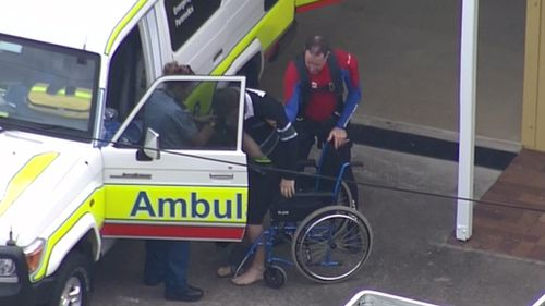 Two patients had symptoms similar to hypothermia, while one had 'taken on water'. (9NEWS)