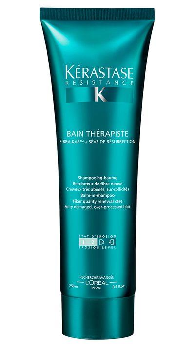 "<a href=""http://www.adorebeauty.com.au/kerastase-bain-therapiste-balm-in-shampoo.html"" target=""_blank"">Bain Thérapiste Balm-In-Shampoo, $44, Kérastase</a>"
