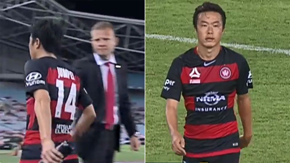 Wanderers coach Josep Gombau releases Jumpei a day after snub