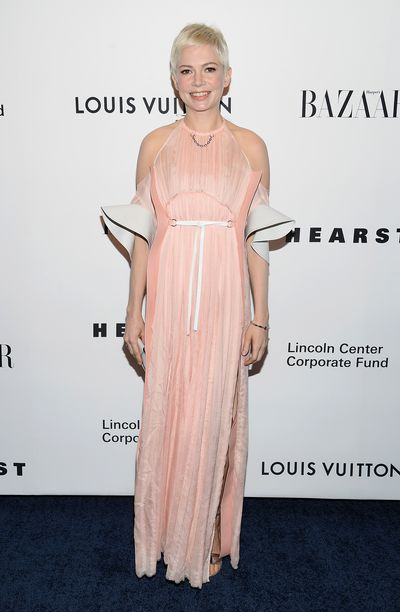 Michelle Williams at a Gala in New York in November, 2017.