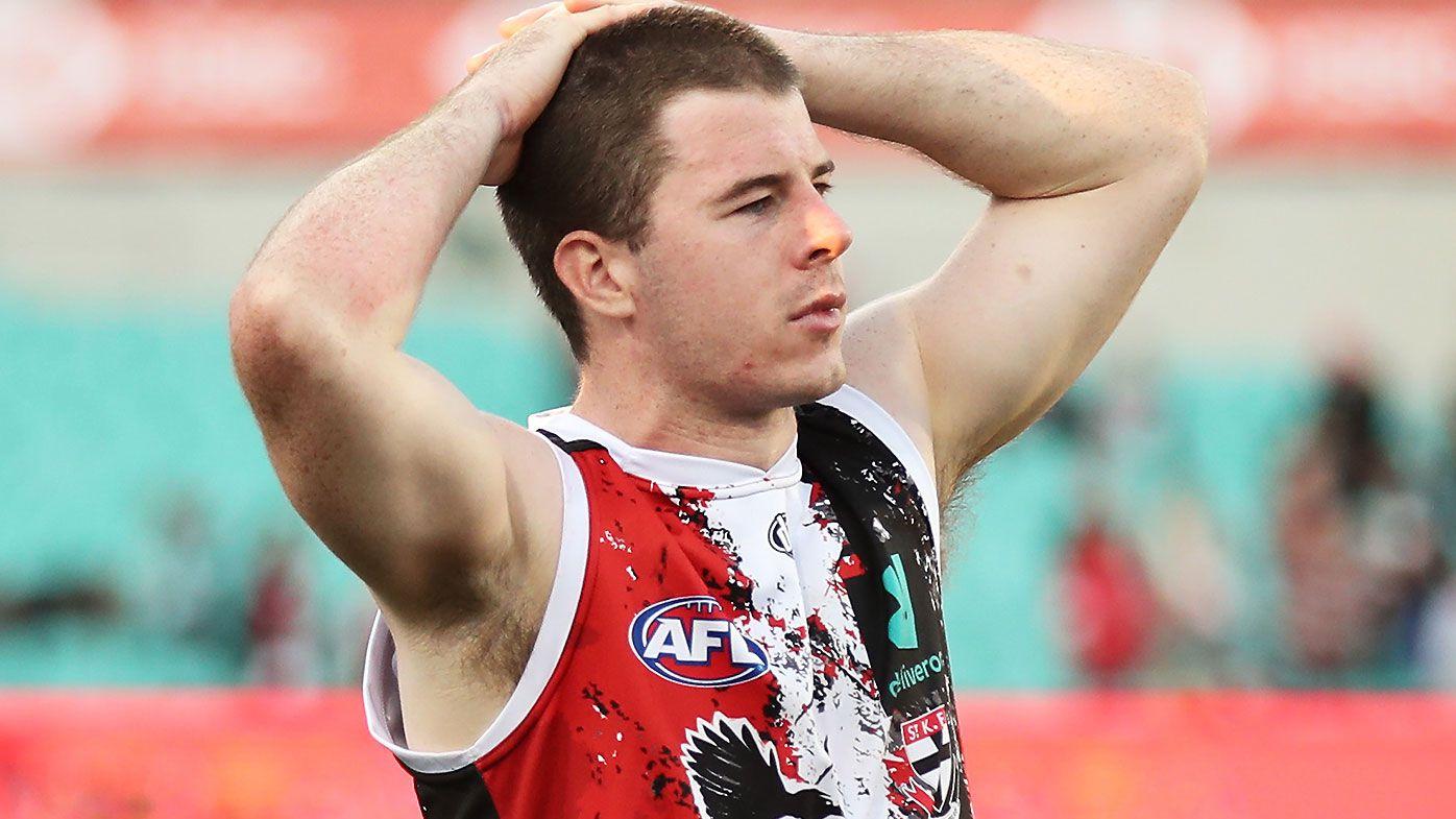 St Kilda left to rue Jack Higgins' wayward kicking as Sydney Swans claim thriller