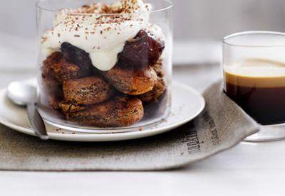 Coffee-soaked savoiardi