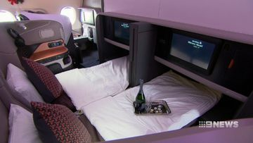 Inside Singapore Airlines' luxurious new A380 cabin fit-out