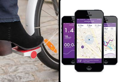 Connected Cycle's smart pedals