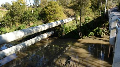 April 30, 2012: Ten days into a large-scale search for Allison, a canoeist spots a body in the mud in Kholo Creek, under the Mt Crosby Road overpass and about 13km from her home.