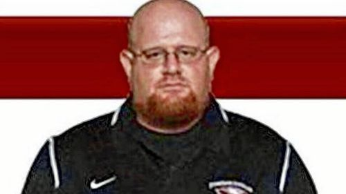 Aaron Feis, who worked with the Marjory Stoneman Douglas High School football team and as a security guard for the school, was one of 17 shot dead in the rampage. (Facebook)
