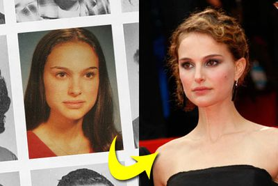 Even big-time celebrities had to endure years of geeky yearbook photos - here's our pick of the best (and worst!)<br/><p></p>Cringe-tastic!