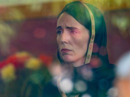 Jacinda Ardern's poignant moments amid terror