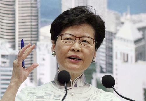 Hong Kong Chief Executive Carrie Lam has apologised for her handling of the bill.