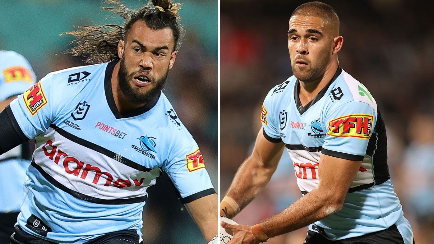 Cronulla Sharks re-sign duo Toby Rudolf and Will Kennedy