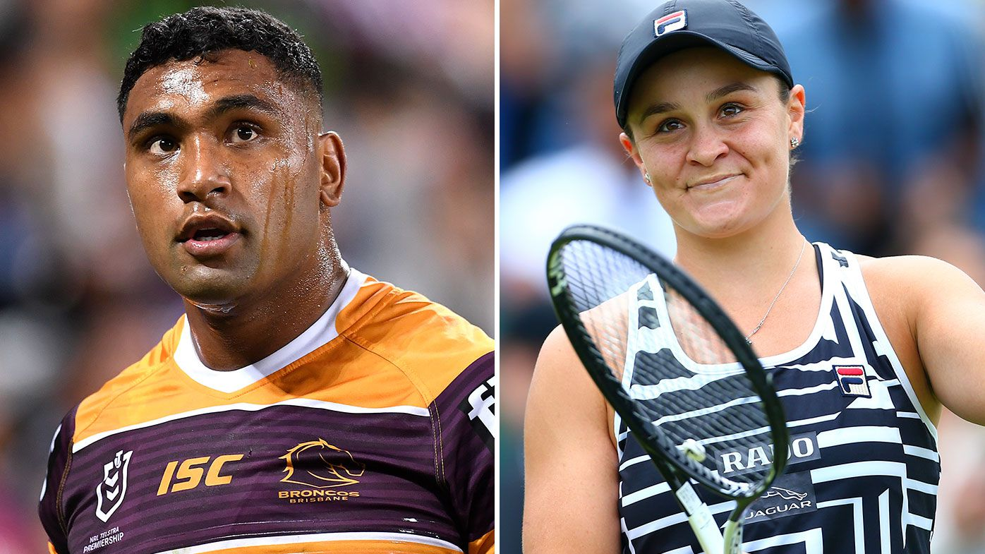 'The way I need to be': Tevita Pangai Junior draws Ash Barty inspiration in NRL redemption quest
