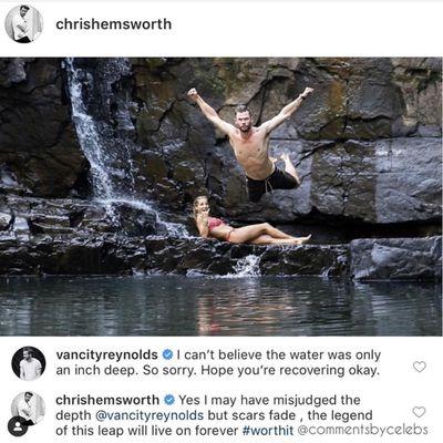 Chris Hemsworth<br /> <div>&nbsp;</div>