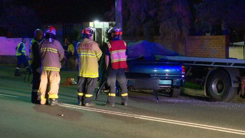 Emergency services were called to Duffy Avenue in Thornleigh about 1.20am this morning. (9NEWS)