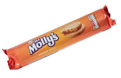 Ms Molly's Ginger Nut Biscuits 300g ($2)