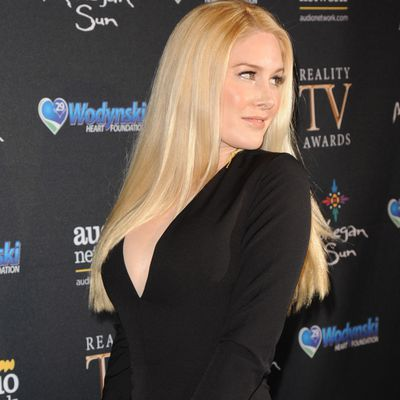 The star: Heidi Montag
