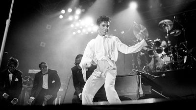 Prince in concert in 1986. (AAP)