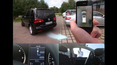 "<p><b>Self-driving cars </b></p><p> Last year, auto-boffins Valeo showed off their automatic parking technology. Now, it's driving itself. </p><p> The company have concocted a laser-scanning system that lets a car ""paint"" its surroundings and take partial control of the vehicle's main driving functions like steering, braking and accelerating. </p><p> The result is a kind of super-advanced cruise control called Cruise4U that car-makers can install in their vehicles before trusting consumers to use the technology wisely. </p>"
