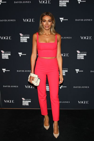 Fashion blogger Nadia Bartel in Dion Lee