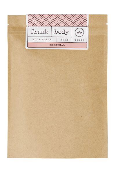 """<a href=""""https://au.frankbody.com/products/original-coffee-scrub"""" target=""""_blank"""">Frank Body Original Coffee Scrub, $16.95.</a>"""