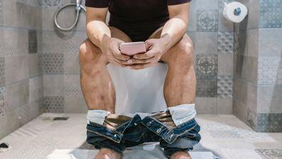 Woman furious over husband's strange bathroom habit