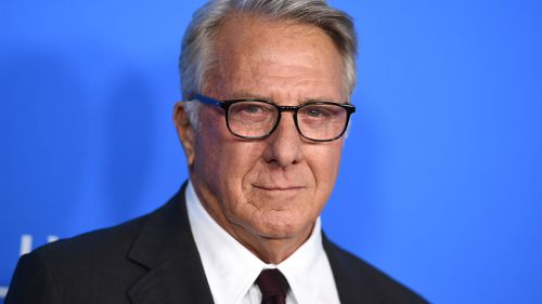 Dustin Hoffman arrives at the Hollywood Foreign Press Association Grants Banquet in Beverly Hills. (AP)
