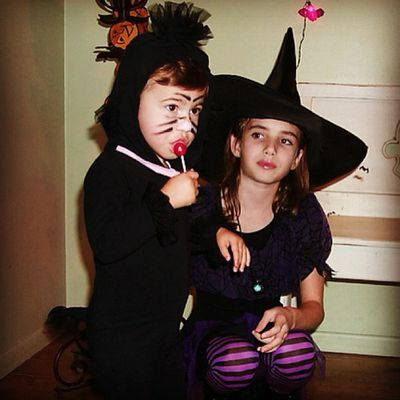 She's now a scream queen, that little witch.