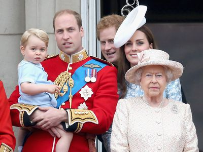 """Trooping the Colour: Prince George's first appearance<span style=""""white-space:pre;""""></span>"""