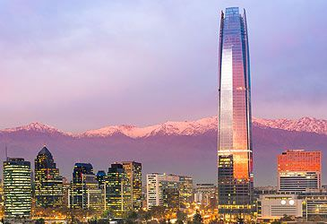 Daily Quiz: Santiago is the capital and largest city in which nation?