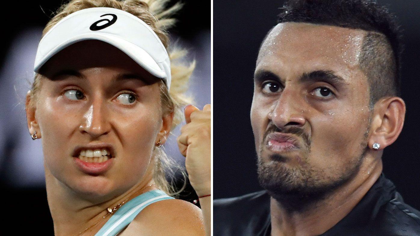 Australian tennis ace Nick Kyrgios slams Daria Gavrilova's temper tantrum at Acapulco Open
