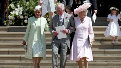 Prince Charles at the Royal Wedding, 2018.