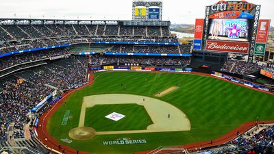 Citi Field was specially modified for the contest, which was won by Warne's Warriors. (Getty)