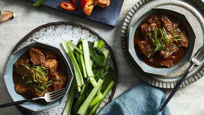 """Recipe:&nbsp;<a href=""""http://kitchen.nine.com.au/2017/09/12/22/04/mandarin-five-spice-pork"""" target=""""_top"""">Mandarin five spice pork</a>"""