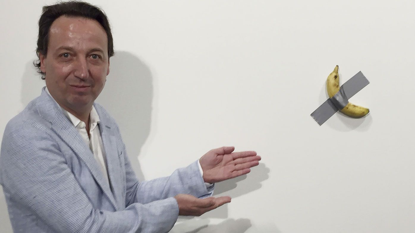 Why couple bought $175,000 banana art