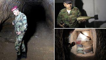 Eastern Ghouta tunnels