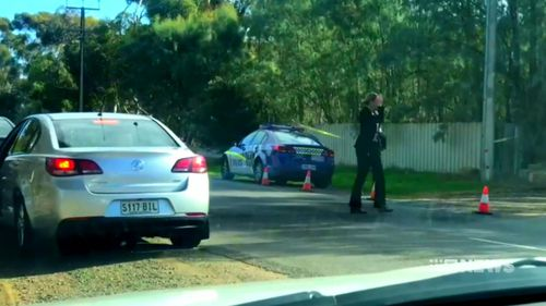 The man is believed to have been bashed. Picture: 9NEWS