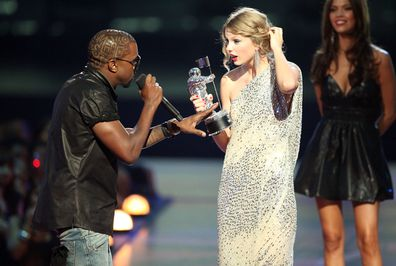 Kanye West and Taylor Swift
