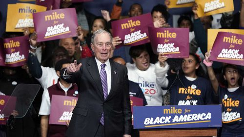 Michael Bloomberg is making a direct appeal to black voters, despite his policy history.