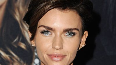 Ruby Rose nails the Christmas look