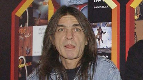 AC/DC co-founder and guitarist Malcolm Young. (AAP)